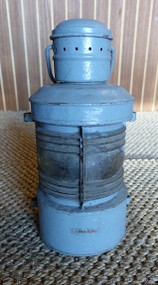 vintage gray nautical light