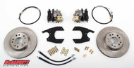 "GM Fullsize Car 10 or 12 Bolt Rear End - 13"" Rear Disc Brake Kit; 5x5 Bolt Pattern - McGaughys Part# 64100"
