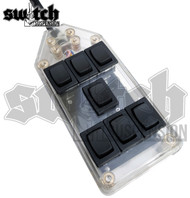Air Suspension Clear 7 Switch Box for 4 Corner Ride Control (SWITCH7CL)