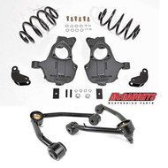 Chevrolet Tahoe 4wd/AWD 2015-2018 2/3 Deluxe Drop Kit - McGaughys Part#34208