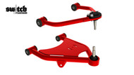 Cadillac Escalade 2wd 1998-2001 Tubular Upper and Lower Control Arms For Air Suspension - Choppin Block Part# 1032