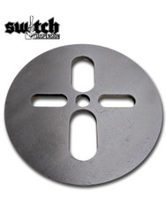 Upper Air Bag Circle Plate 6""