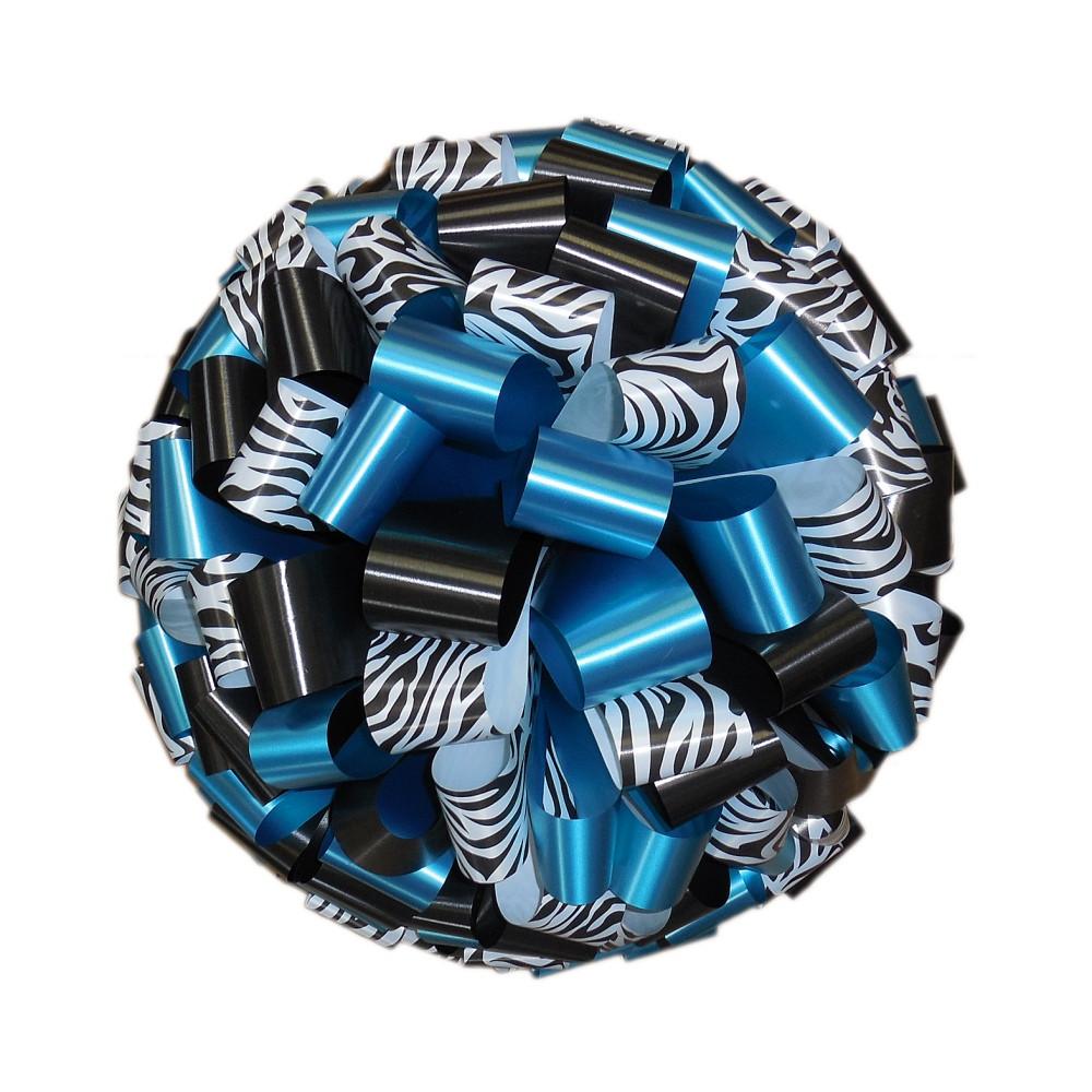 Zebra Print Car Bows
