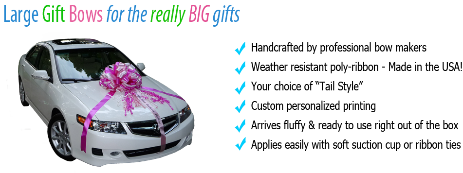 Large Gift Bows