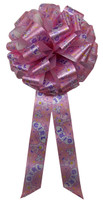 "12"" Baby Bows - It's a Girl in Pink"