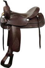 Double T Trail Saddle 05016 - Western Horse Saddle - Trail Saddles