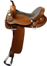 Double T Trail Saddle 19416 - Western Horse Saddle - Trail Saddles