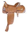 Alamo Oakleaf California Equitation Show Saddle 16in. 1002