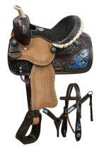 Double T Pony Saddle 7863