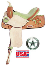 Diamond Racer Barrel Saddle 845D Barrel Racing Saddle