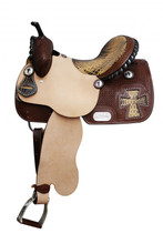 Double T Barrel Racing Saddle 6396 - Western Horse Saddles
