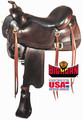 Big Horn Gaited Saddle A01544 - Western Horse Saddle