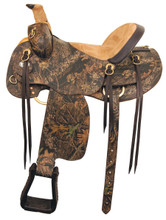 American Saddlery Mossy Oak Camo Hunter - Horse Saddles - Trail Saddle