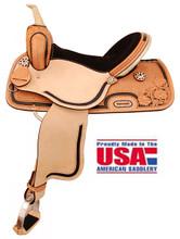 American Saddlery Barrel Racer Saddle 1522 - Western Horse Saddles
