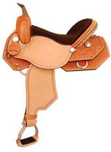 American Saddlery Geometric Racer 1519 - Barrel Racing Saddle - Western Horse Saddle