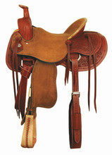 American Saddlery Working Cowhorse Saddle 1177 - Roping Saddle - Western Horse Saddles