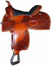 American Saddlery Pleasure Reiner Saddle 5036 - Western Horse Saddles