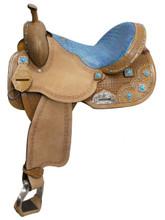 Double T Barrel Saddle 451 - Western Horse Saddles - Barrel Racing Saddles