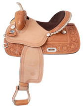 Silver Royal Premium Grand Prairie Barrel Racing Saddle SR206 - Western Horse Saddle
