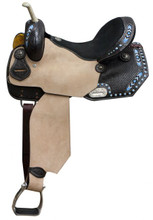 Double T Barrel Racing Saddle 6619 - Western Barrel Saddles