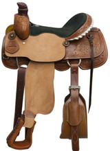 Showman Roping Saddle 6605 - Western Saddle