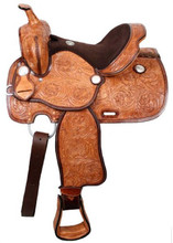 Double T Youth Saddle 32513 - Western Saddles - Flex Tree