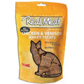 Real Meat - 3oz Chicken and Venison Treats