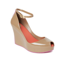 Melissa Shoes Patchuli V Brown/Pink