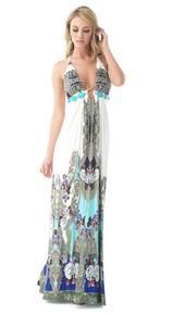 Sky Iasynia Maxi Dress Blue
