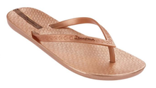 Ipanema Shoes Neo Sense Flip Flops Rose Gold