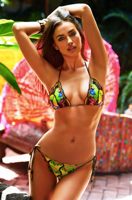 Agua Bendita Bendito Tucan Bikini Set