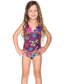 Agua Bendita Kids Bendito Desertico One Piece Swimsuit