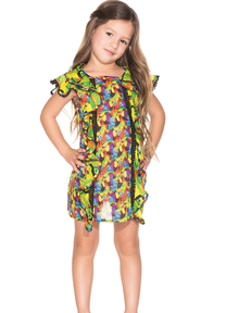 Agua Bendita Kids Bendito Garza Dress