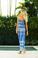 Vix Swimwear Carioca Alice Silk Long Dress