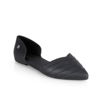 Melissa Shoes Petal Flats Black