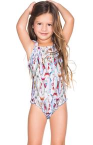 Agua Bendita Kids Bendito Compas One Piece Swimsuit