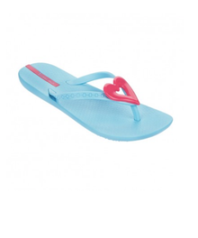 Ipanema Neo Precious Kids Flip Flops Blue Pink