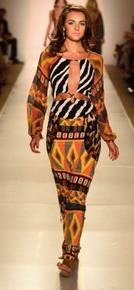 Indah Celia Maxi Dress King Mix