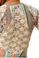 Sky Phernit Cap Sleeve Maxi Dress Blue Print