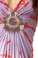 Sky Qeb Maxi Halter Dress Tie Dye Punch
