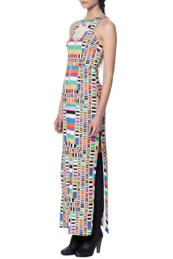 Mara Hoffman Cutout Column Dress SNR