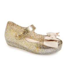 2016 Mini Melissa Shoes Mini Ultragirl Sweet May Jane Gold