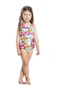 2016 Agua Bendita Kids Bendito Violeta One Piece Swimsuit