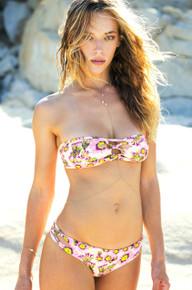 Tori Praver Napili Strapless Bikini Set Cactus Naked