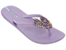 Ipanema Shoes Summer Love Kids Flip Flops Sprinkles Purple
