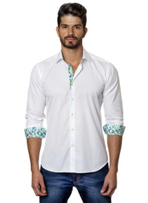 Jared Lang Button Down Shirt T-43 White