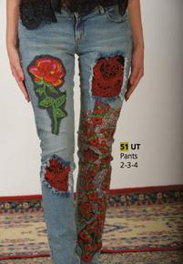 Antica Sartoria 51 Embellished Denim Jeans