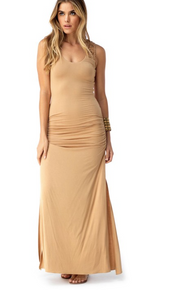 Sky Mei Maxi Dress Honey