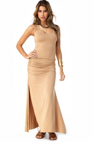 Sky Mosi Maxi Dress Honey