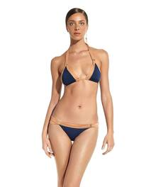 Vix Swimwear Solid Indigo Betsey Bia Bikini Set